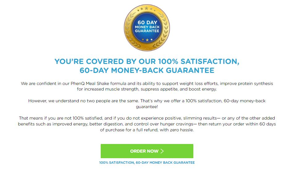 PhenQ Complete Meal Shake Scam Review